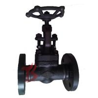 China A105N Industrial Globe Valve 1 Inch , Full Port Welded Flanged Globe Valve wholesale