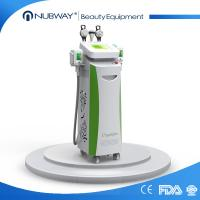 China 5 cryo handles cryolipolysis cavitation rf slimming machine cool tech shape fat freezing wholesale