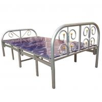 China Metal Folding Bed, Steel Folding Bed With 10 Legs, Foldable Bed wholesale