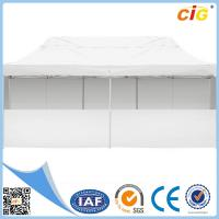 China 3x6 m Folding Outdoor Gazebo Marquee Tent Canopy Party Pop Up Wall Market White on sale