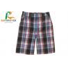 China Wholesale men OEM west streetwear lattice patterns plaid shorts, plaid surf / beach shorts /Street wear trunks wholesale