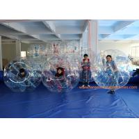 China ASTM  1.5m Inflatable Bumper Ball Battle Football With Red Ropes wholesale