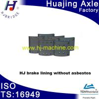 China Spare parts of semi-trailer-------brake lining without asbestor wholesale