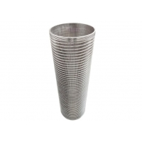 Buy cheap 0.6mm Slot ID200mm H600mm Carbon Water Filter Cartridge For Dewatering Machine from wholesalers