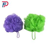 China Professional Colorful Puff Bath Sponge Mesh Shower Ball,Mesh Flower Body Wash Sponge,PP BATH SPONGE wholesale