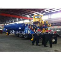 Ferrous & Non - Ferrous Smelting Industry Portable Baler With Oil - Steam Heat Exchange Cooler