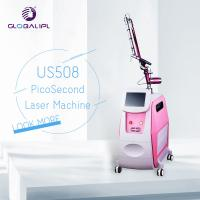 China 1064 / 532nm Q Switch ND YAG Laser Machine 500PS Pulse Duration Portable Style wholesale