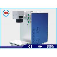 China Metal Compact Laser Marker Machine With Fiber Laser Source Environmental Protection wholesale
