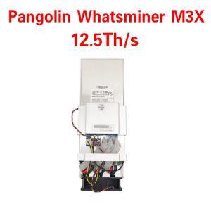 Buy cheap Whatsminer M3X 12.5T 2600W for Bitcoin Mining Machine ASIC Miner Whatsminer M3X from wholesalers