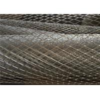 15 X 25mm Expanded Metal For Grill , Lightweight Expanded Aluminum Sheet