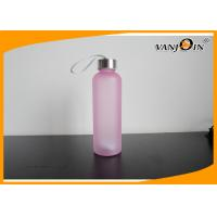 China Candy Color Summer Sports Plastic Drink Bottles / Reusable Healthy Drinking Bottles wholesale