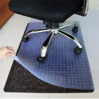 China Clear Studded Chair Mat For Carpet wholesale