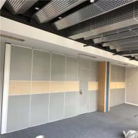 China Conference Hall Acoustic Partition Sliding Door Movable Partition Wall System for Hotel on sale