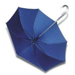China Straight Umbrella with Aluminum Crook Handle and Shaft wholesale