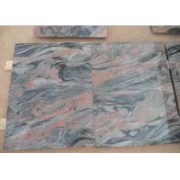 China Multi color red Natural Granite Tiles with Polished , Flamed , Honed Surface wholesale