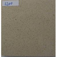 China K3200 Granule Quartz Countertop Slabs With One Pre Drilled Faucet Holes wholesale