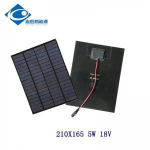China 18V 5W PET flexible solar panel for solar power toy car ZW-5W-18-P Silicon Solar PV Module wholesale
