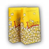 China Food Grade Popcorn Recycled Paper Food Bags Eco Friendly Biodegradable Material wholesale