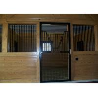 China Sliding Door Customized Wooden Horse Stable Bamboo Material Horse Stall wholesale