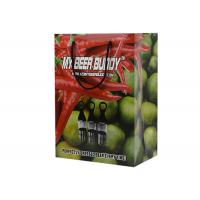 Buy cheap Low Cost Fruits Package Green Printing Recycle Paper Gift Bags With Rope Handle from wholesalers