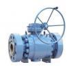 China 3 Piece Carbon Steel Trunnion Ball Valve , bare stem, actuators ball valve wholesale