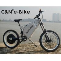 China Adult Mid Drive Motor Electric Off Road Bike With 30Ah Lithium Ion Battery wholesale
