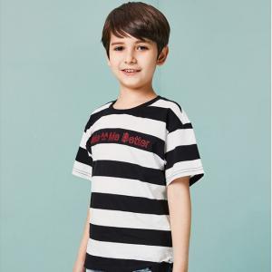 China Two-tone Texture T-Shirt Kids