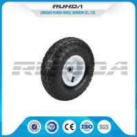 China Comb Pattern 10 Inch Pneumatic Wheels Large Friction Against Tire Skidding wholesale