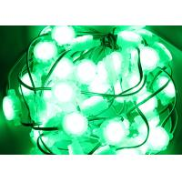 Buy cheap 30mm Outdoor Green DC24V 0.6W IP67 Pixel Led Light XH6897 Controlling from wholesalers