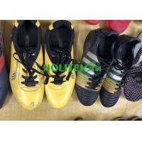 China Colorful Second Hand Football Shoes / Used Football Shoes For Outdoor Sport wholesale