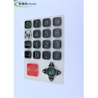 China Customized Color Silicone Numeric Keypad Cell Phone Button Easy To Clean wholesale