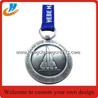 China Custom dinghy medals for activity,dinghy boats medals with polished old nickel wholesale