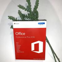 China MS Office 2016 Professional Plus MAK Key , Office 2016 Pro Plus Full Package With Disc on sale