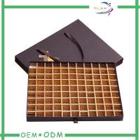 China Handmade Drawer Box Style Paper Chocolate Boxes With Handle / Cardboard Insert wholesale