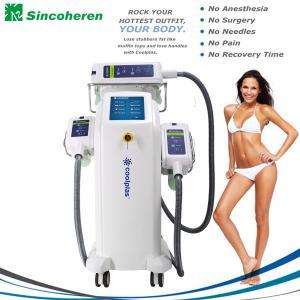 China 3 Treatment Handles Fat Freeze Cryolipolysis Treatment / Cryolipolysis Slimming Machine wholesale