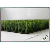 Fire Resistance Football Artificial Turf With 60 mm Pile Height , Artificial Grass For Football