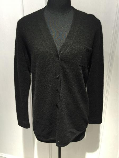 Quality A Grade Womens Cashmere Sweaters / Black Cashmere Cardigan Sweater Multi Color for sale