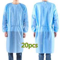 China Antibacterial Disposable Non Woven Gown , Disposable Medical Workwear on sale