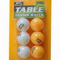 China Table tennis balls, made of celluloid wholesale
