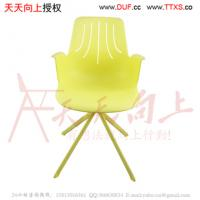 China modern elegant fashion PP stacking lecture chair with writing tablet wholesale