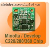 China toner chip for Olivetti d-Color MF451/MF551/MF651 wholesale