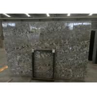 China Precut Brazil Bianco Antico Granite Slab , Grey Bianco Antico Granite Tiles on sale