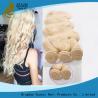 China Cheveux 100%, cheveux brésiliens blonds d'armure de cheveux durables de Remy de Vierge wholesale