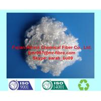 China Furniture filling material 7D / 15D hollow conjugated siliconized polyester staple fiber on sale