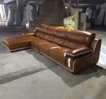 A15; L shape genuine leather sofa, modern home furniture,office furniture,