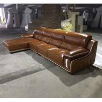 Quality A15; L shape genuine leather sofa, modern home furniture,office furniture, for sale