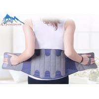 China Breathable Adjustable Lower Lumbar Back Brace Support Belts Nylon Material wholesale