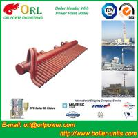 China 100 Ton Boiler Header Manifolds Carbon Steel Boiler Unit for Natural Gas Industry wholesale