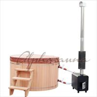 China 1800*900MM Japanese soaking Hot Tub Bath Barrels , durable cedar sauna kit wholesale