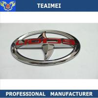 China Chrome Body Sticker Car Badge Logos Longer Working Life No Easy To Scratch wholesale